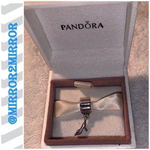 🌼Auth. Pandora Sterling Silver Stiletto dangle